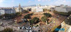 Plaça Catalunya 19-10-2014