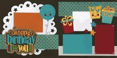 Happy Birthday To You-Boy Page Kit