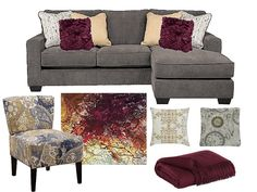 by San Marino Furniture This year, fall color scheme includes neutrals and bold tones. Fall Trends, Couch, Colors, Tips, Furniture, Ideas, Home Decor, In Living Color, Homemade Home Decor