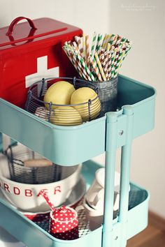 I love the ikea drinks trolley. Would be perfect in my pantry or even as a bed side table