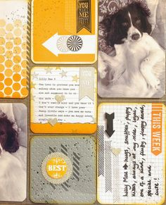 Petite Fleur Paperie project life stampin up