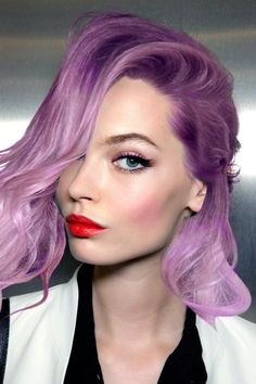 Lavender Hair DeJour that I will be rocking this week for Splash Fashion Show!~ one more reason I want to dye my hair purple....