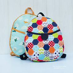 592 Harper Kids Backpack PDF Pattern - ithinksew.com