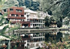 """Mühltalhof hotel with exquisite cuisine from Helmut and Philip Rachinger. Rooms and suites in Neufelden, Austria, next to the river """"Große Mühl"""". Design Hotel, Das Hotel, Restaurant, Holiday Travel, Austria, Most Beautiful, Scenery, Adventure, Hotels"""