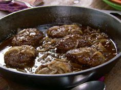 Very delicious Salisbury steak recipe! I didn't use the beef bouillon and can't imagine it being any better with it :)