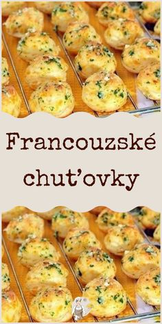 Francouzské chuťovky Food Dishes, Side Dishes, Cooking Recipes, Healthy Recipes, What To Cook, Sweet Desserts, Appetizers For Party, Finger Foods, Tapas