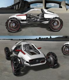 Transportation by JinSeok Song at Coroflot.com Can Am Atv, Low Poly Car, Sand Rail, Futuristic Cars, Automotive Design, Electric Cars, Concept Cars, Cars And Motorcycles, Luxury Cars