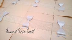 Partecipazione Invito fiocco e pizzo - rosa cipria - lace wedding invitation bow Home Decor, Decoration Home, Room Decor, Home Interior Design, Home Decoration, Interior Design