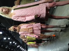 Pink parade at Karen walker