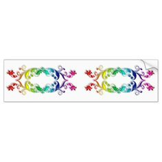 #vintage - #baroque style element bumper sticker