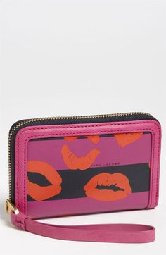 MARC BY MARC JACOBS 'Eazy Pouch - Wingman B' Phone Wallet available at #Nordstrom
