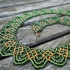 Swags Necklace Beadwork Pattern/Tutorial  Instant Download