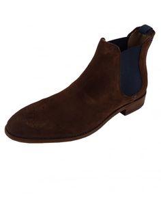 c40055f01f Oliver Sweeney Silsden Chocolate Suede Chelsea Boot