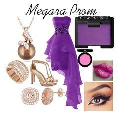 """Megara Prom"" by kirstenkirk on Polyvore featuring Swarovski, Tory Burch, Miadora, NARS Cosmetics and Armani Beauty"