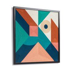Kave Home Cuadro Batana , en Tejido - Multicolor Chicago Cubs Logo, Team Logo, Abstract, Artwork, Cards, Design, Jouer, Styles, Ideas