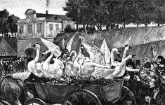The Wild Swans -- Fairytale Illustration -- Andersen