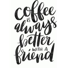 Silhouette Design Store - View Design #86064: coffee is always better with a friend