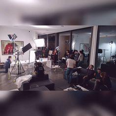 crazy shoot at #Brugge!  #electro #Narafi #filmschool #filmmaking #film
