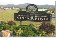 This is my town!      Spearfish, South Dakota