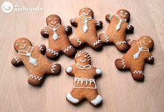 Galletas de jengibre y canela para Navidad - Recetasderechupete.com