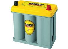 Optima Battery Sealed Lead Acid Battery - Group Yellow Top Dual Purpose On Sale Everyday At Zequip Equipment Superstore. Caravan, Solar, Battery Terminal, Optima Battery, Lead Acid Battery, Cool Things To Buy, Purpose, Freeze, Camper