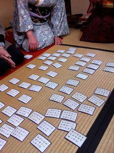 Hyakunin Isshu Karuta, Traditonal Japanese Card Game|百人一首かるた