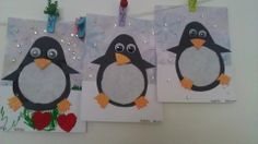 pingouin Filet Crochet, Kindergarten, Crafts For Kids, Kids Rugs, Halloween, Winter, Polo, Penguin, Recycled Robot