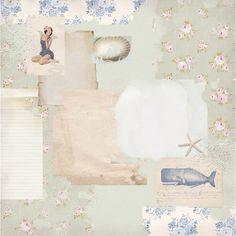 tilda paper | Tilda paper stack Seaside life