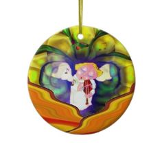 Spring Angel Violin Player Ornament http://www.zazzle.com/spring_angel_violin_player_abstract_art_ornament-175786845982764365?rf=238019012550410282