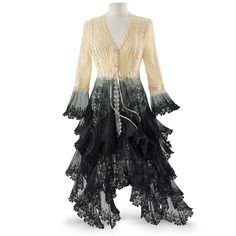 Long Lace Jacket - Women's Clothing & Symbolic Jewelry – Sexy, Fantasy, Romantic Fashions