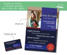 Afiche y tarjeta personal. Diseño: Absurda Mente.  Más en: www.facebook.com/absurda.mente2