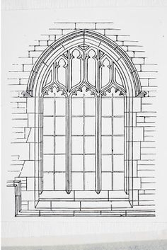 The Chapel is going to be linked to the main house by a cloister, which will have open arches along the posterior face, opening out into t...