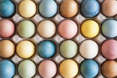 Look how beautiful these are! I will never go back to store-bought artificially dyed eggs! dye Easter eggs naturally #eastereggs
