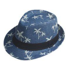 10 Color Children Summer straw Sun hat kids Boho Beach Sunhat Fedora hat Trilby panama Hat handwork for boy girl Gangster Cap