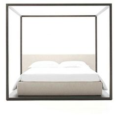 Alcova Canopy Bed by Maxalto  by Antonio Citterio
