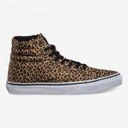 Leopard print hi top from Vans