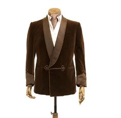 The quintessential smoking jacket