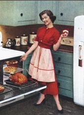 Miss Retro's Blog: My collection of vintage housewife pics