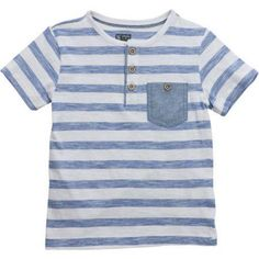 cca44dc4a Garanimals Baby Toddler Boy Short Sleeve Solid & Stripe Polo Shirts,  2-pack, Size: 25 Months, White | Products | Pinterest | Toddler boys, Boy  shorts and ...
