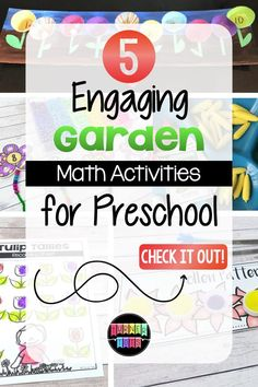 Garden Math Activities for Growing Minds | Turner Tots