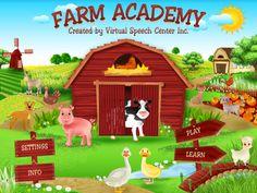 Speech Time Fun: Introducing, Farm Academy App!