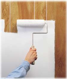 DIY: Painting Directly Over the Paneling