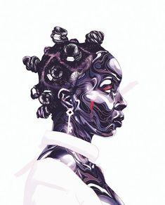 Roots and Culture: Jamaican digital art by Taj Francis