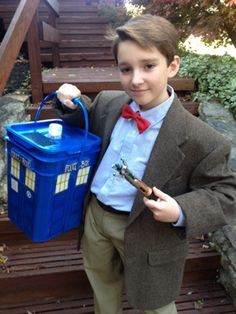 Obviously it doesnu0027t have to be a kidu0027s costume. Doctor Who Halloween CostumesDr ...  sc 1 st  Pinterest & PHOTOS: u0027Doctor Whou0027 and BBC America Fans in Costume   Pinterest ...