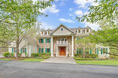 Elegant Custom Colonial | Bernardsville Somerset County Single Family Home Home for Sales Details