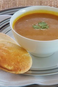 second time making this! its soooo good. winter squash soup from