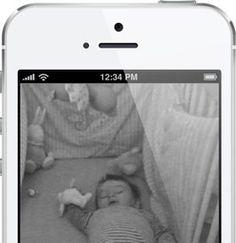 Baby monitor/ smartphone/ iphone