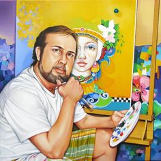 Orestes Bouzon, autorretrato