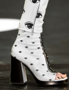 The 10 Craziest Shoes From the Fall 2013 Runways