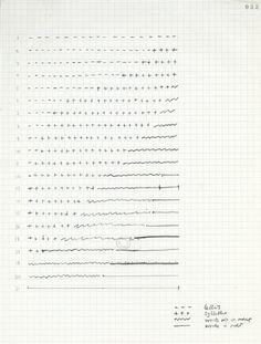 Harry Mathews, manuscript, 1990, Fonds Oulipo, Dossiers mensuels de réunion…